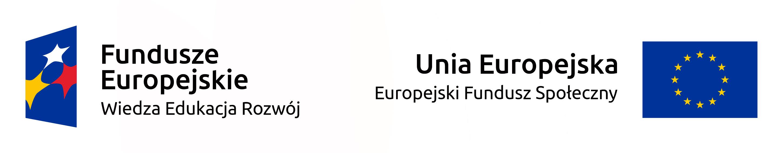 Logotyp Fundusze Europejskie Program Wiedza Edukacja Rozwój