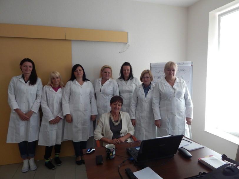 Uczestniczki kursu Opiekun osób starszych
